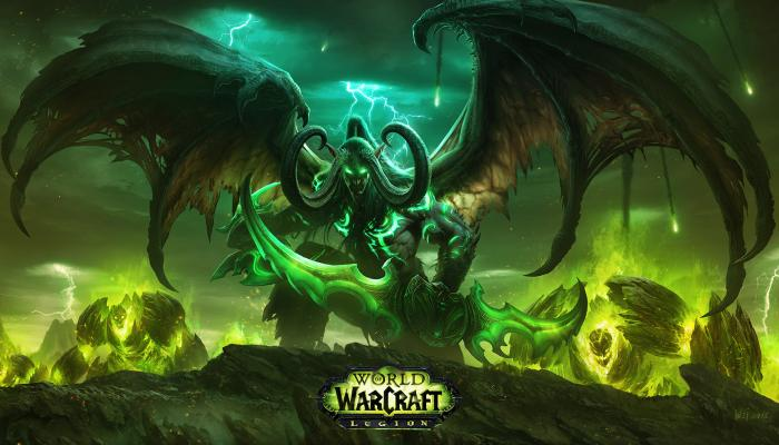 Обои по игре World of Warcraft: Legion