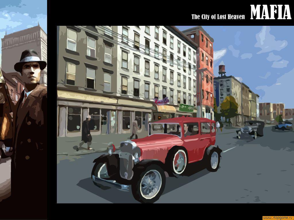 Mafia city of lost heaven графика