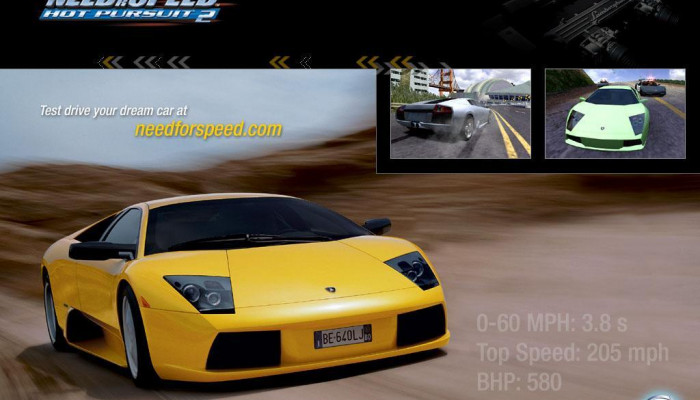 к игре Need for Speed: Hot Pursuit 2
