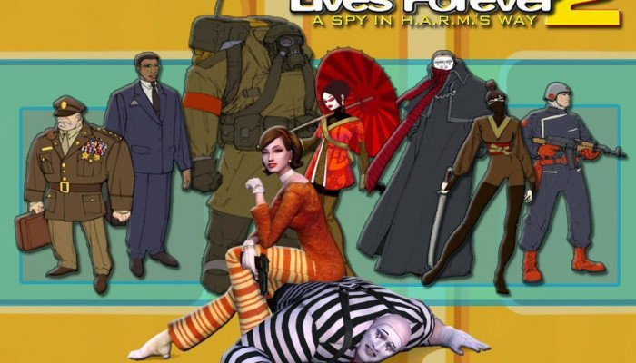 к игре No One Lives Forever 2: A Spy in H.A.R.M.'s Way
