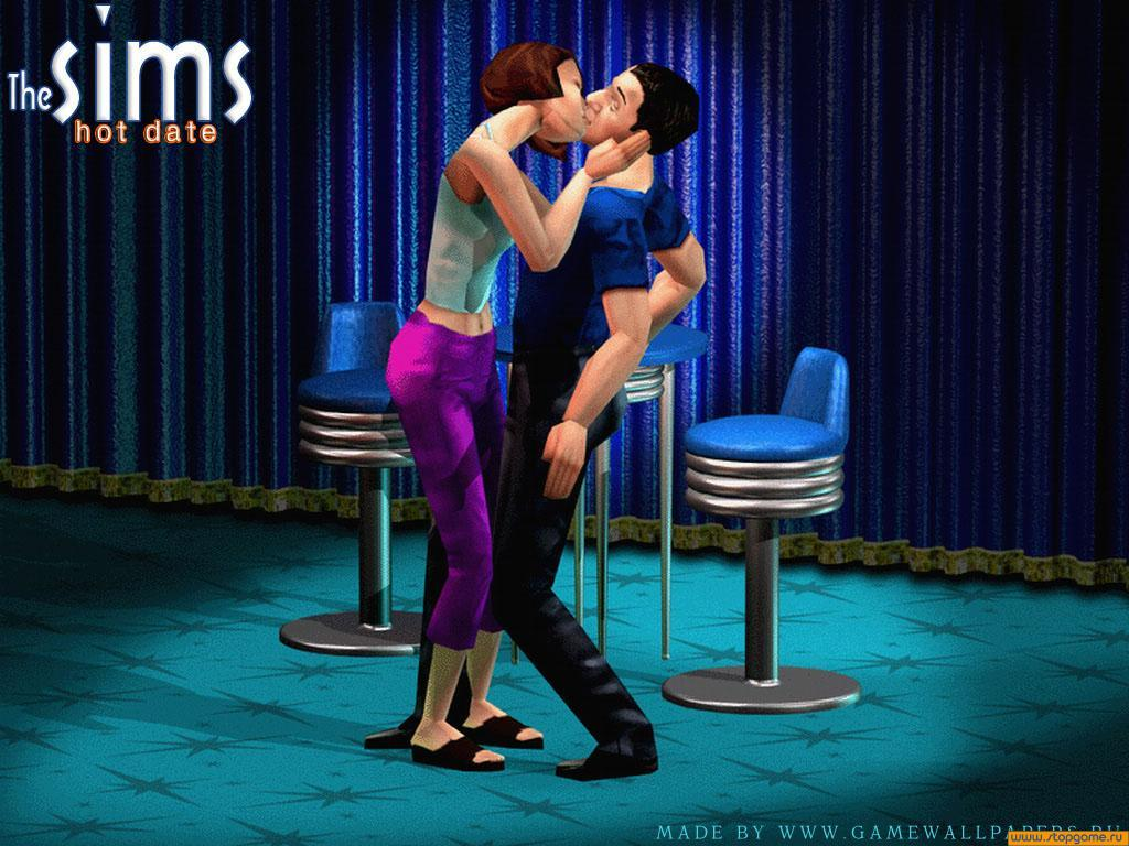 wallpapers sims: hot date, the