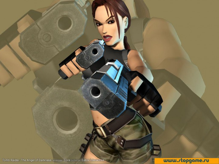 Download page for the picture Wallpapers Video Games Tomb Raider The