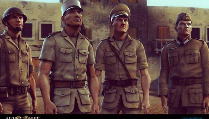 к игре Desert Rats vs. Afrika Korps