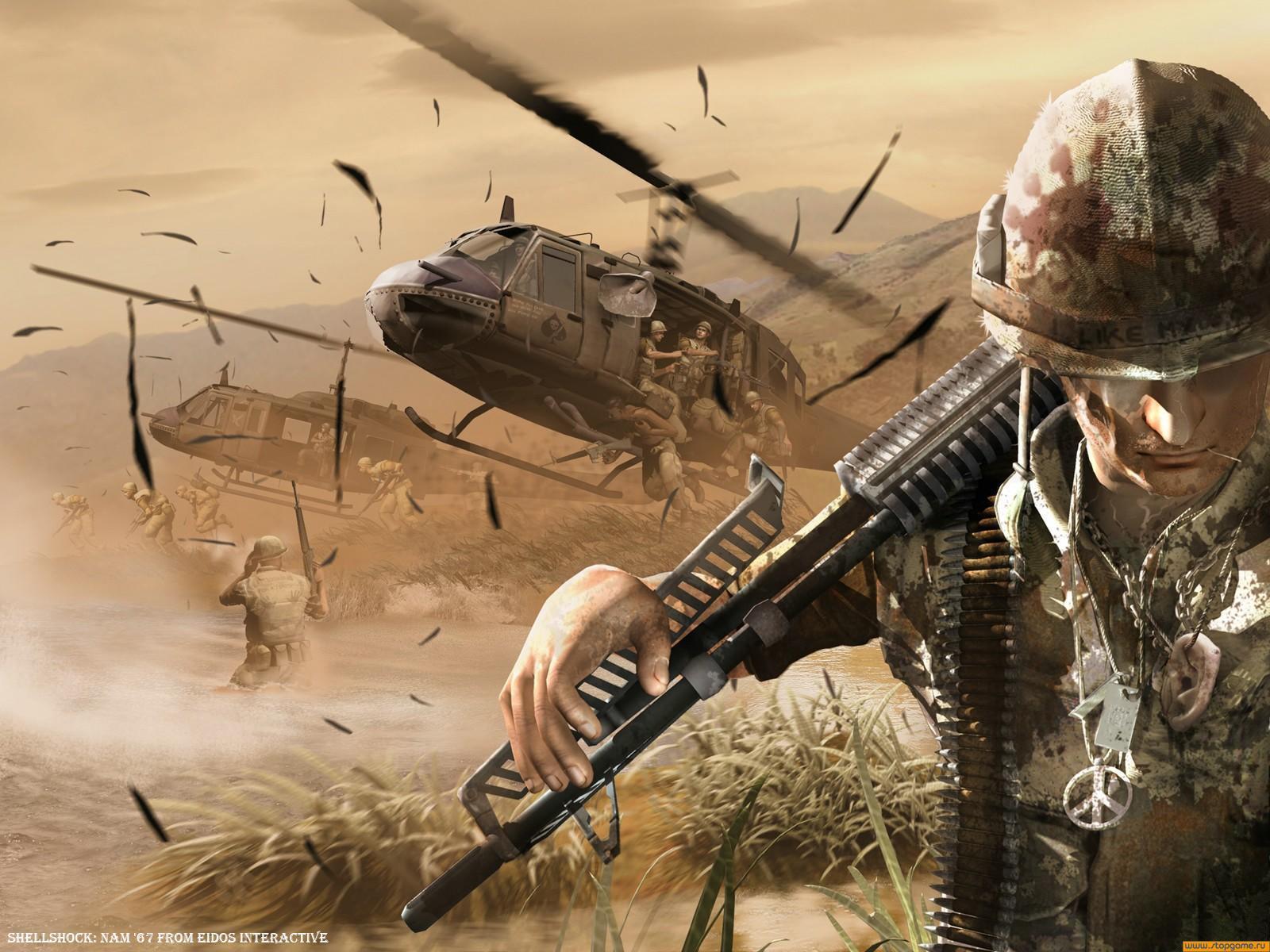 Shellshock: Nam '67 - обои по игре (wallpapers)