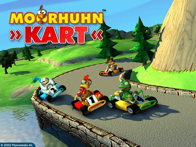 Скачать игру Moorhuhn Kart Xxl