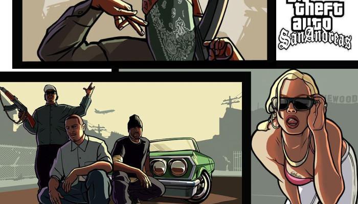 к игре Grand Theft Auto: San Andreas