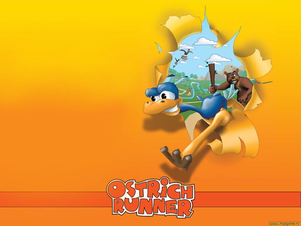 ostrich runner 1 دانلود بازی Ostrich Runners