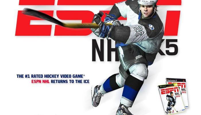 к игре ESPN NHL 2K5