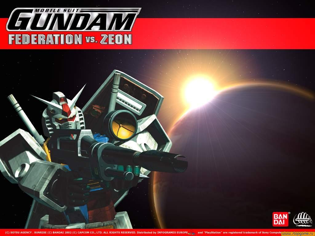 Gundam: Federation vs  Zeon: Обои