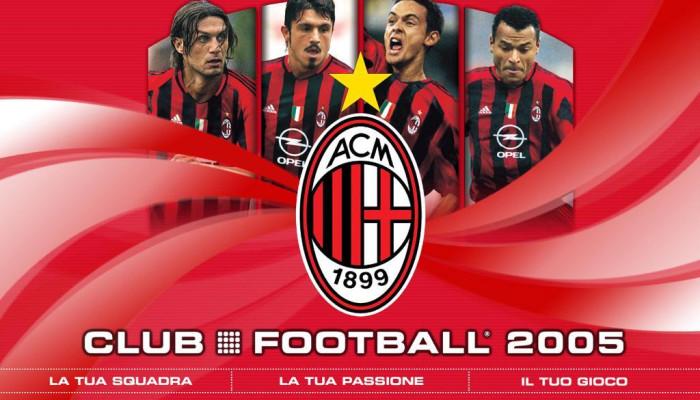 к игре Club Football 2005: A.C. Milan