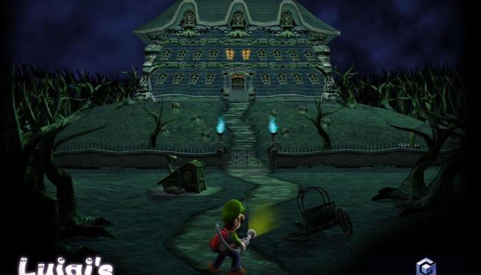 к игре Luigi's Mansion