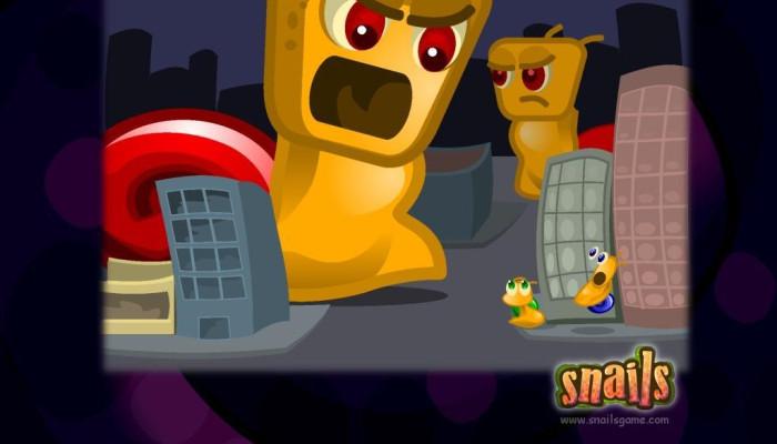 к игре Snails