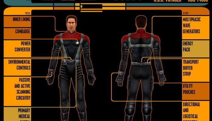 к игре Star Trek: Voyager - Elite Force