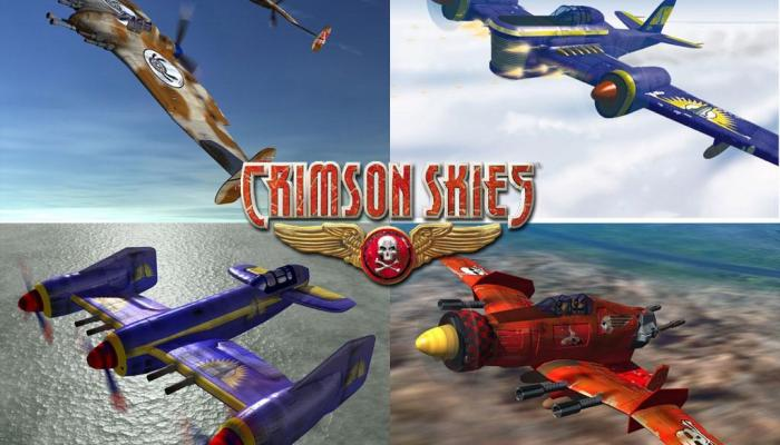 к игре Crimson Skies