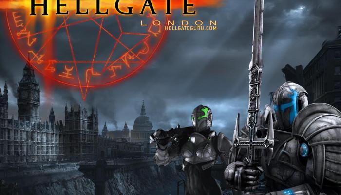 Обои по игре Hellgate: London.