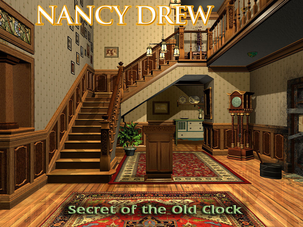Foyer Wallpaper Game : Nancy drew secret of the old clock wallpaper for