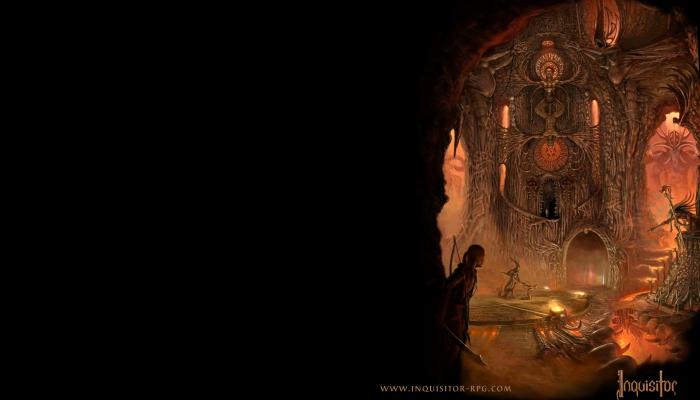 Обои по игре Inquisitor