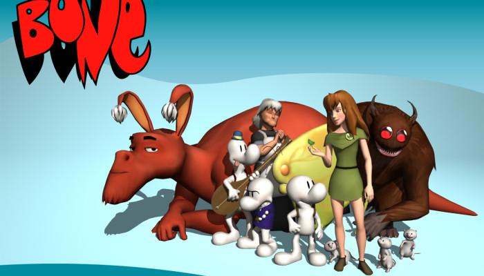 к игре Bone: The Great Cow Race