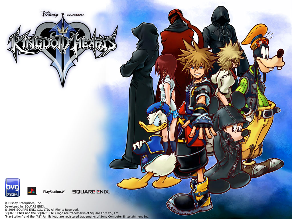Скачать kingdom hearts 2 на компьютер