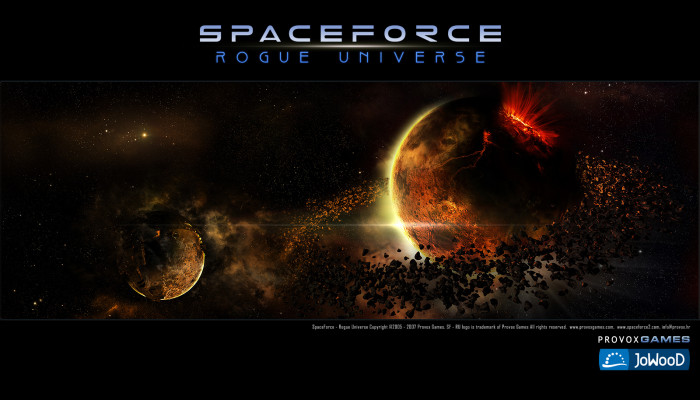 к игре Space Force: Rogue Universe