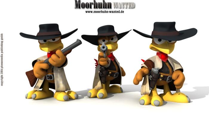 к игре Moorhuhn Wanted