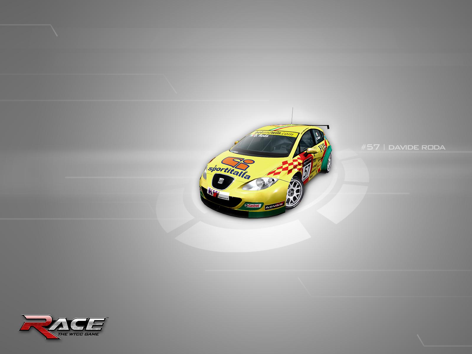 Race the wtcc - обои на рабочий стол.