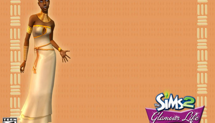 к игре Sims 2: Glamour Life Stuff, The