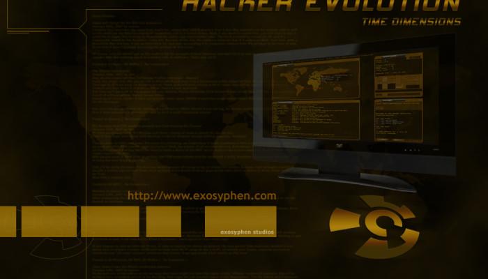 Hacker evolution screenshots