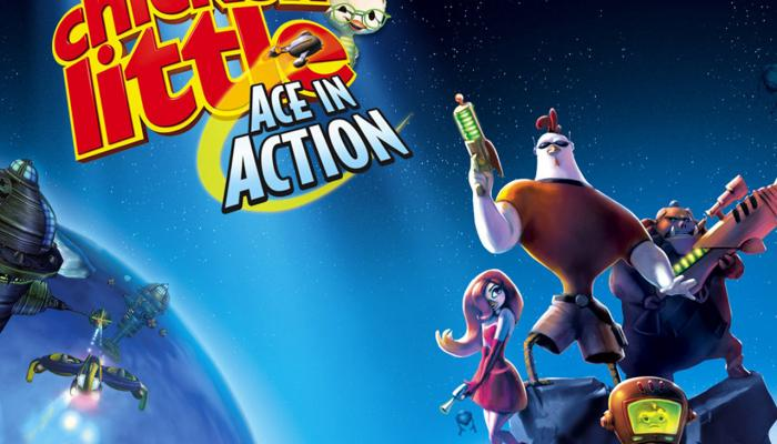 к игре Disney's Chicken Little: Ace in Action