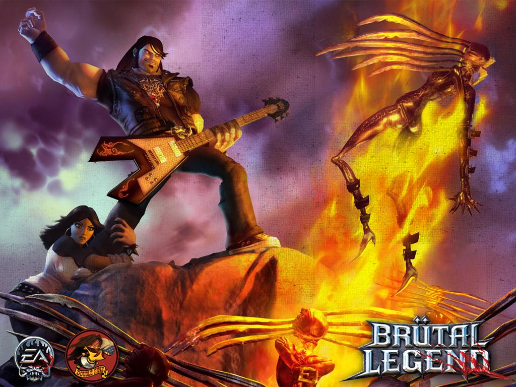 Brutal legend + 2 dlc (2013) pc eng скачать через торрент на pc.